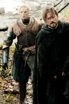 Game of Thrones: Brienne of Tarth and Jaime Lannister