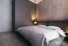 contemporary minimalist interior decorated with shades of gray 415