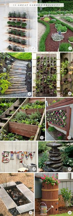 10 Great Garden DIY Projects