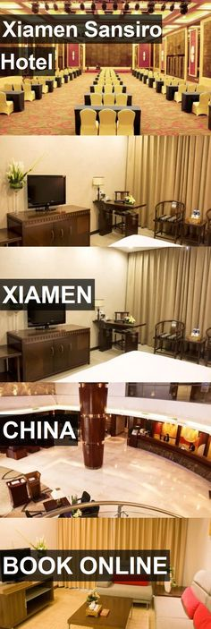 Hotel Xiamen Sansiro Hotel in Xiamen, China. For more information, photos, reviews and best prices please follow the link. #China #Xiamen #XiamenSansiroHotel #hotel #travel #vacation