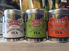 Great #packaging for Kirum tea line. #food