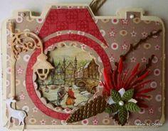 Dutch Doobadoo card art camera door Odette