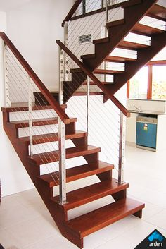 Scissor Stairs #stairs Pinned by www.modlar.com