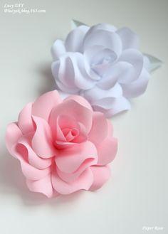 Paper Rose - bjl