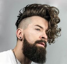 fade haircuts with beards