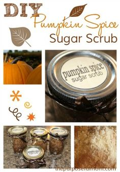 DIY Pumpkin Pie Spice Sugar Scrub