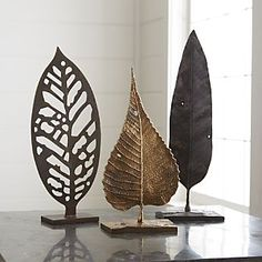 Leaves on Stand