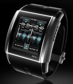 HD3 Slyde watch - the watch Bruce Wayne would wear? #tech
