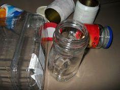 É fácil ser feliz - artesanais: Reciclagem