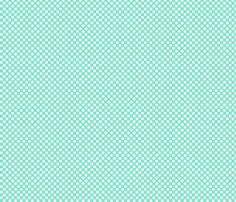 mint dots fabric pattern