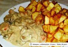 Ronda'de finom - Pulykaragu 7. Gluten, Vegan, Chicken, Healthy, Recipes, Food, Essen, Meals, Eten