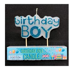 13pc Happy Birthday Glitz Party Glitter Moulded Cake Candle Celebration Letter