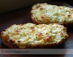 A megunhatatlan melegszendvics | Arabic Food, Baked Potato, Mashed Potatoes, Cauliflower, Breakfast Recipes, Pizza, Food And Drink, Sweets, Baking