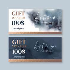 Microsoft Word, Voucher Template Free, Gift Voucher Design, Photoshop, Instagram Feed, Instagram Posts, Print Layout, Website Design Inspiration, Vector Photo