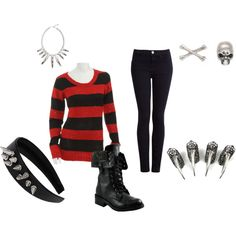 """Freddy Krueger"" by sara-winchester on Polyvore"
