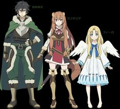 Rising of the Shield Hero Moe Manga, Moe Anime, Anime Art, Character Concept, Character Design, Manga Tutorial, Spice And Wolf, Anime Group, Satsuriku No Tenshi