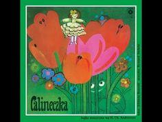 Calineczka - Bajki Grajki - - YouTube Vinyls, Vintage Children, Tweety, Illustrators, Nostalgia, Youtube, Pink, Movies, Painting