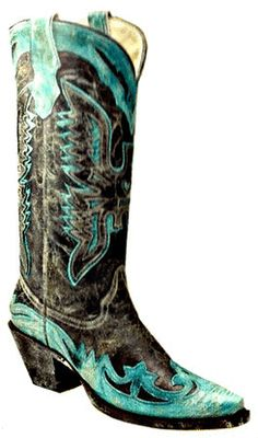Corral Black/Turquoise Crater Eagle R2266 Picture