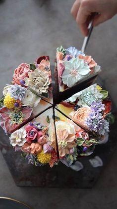 Yay for this wedding shower cake! #maidofhonor #cake National Chocolate Cake Day, Chocolate Chip Cake, Instagram Cake, Disney Instagram, Instagram Repost, Cupcake Cakes, Cupcakes, Cupcake Art, Amazing Cakes