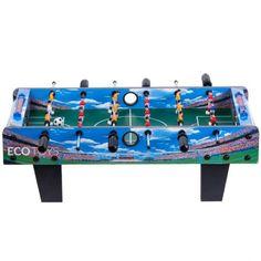 Πολύχρωμο, μεγάλο ποδοσφαιράκι, με φωτογραφικά αποτυπωμένες τις κατάμεστες σε κόσμο κερκίδες του για πιο ζωντανό παιχνίδι.