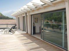 Porta-finestra alzante scorrevole in alluminio e PVC by FINSTRAL