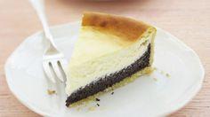 Krémový cheesecake s makom   Recepty.sk
