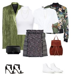 To different options using the same skirt!!  Street or high street by lea-monrad-post on Polyvore featuring polyvore, fashion, style, T By Alexander Wang, WearAll, Haider Ackermann, Dsquared2, French Connection, Common Projects, Alexandre Birman, Mansur Gavriel, Givenchy, Red Camel, Zoë Chicco, Carbon & Hyde and clothing