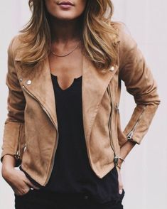 woke up to a chilly morning which means moto jacket season is riiight around the corner  linked my favorites (one is on sale for the Nordstrom sale) via @liketoknow.it here:  http://liketk.it/2si2I  #liketkit