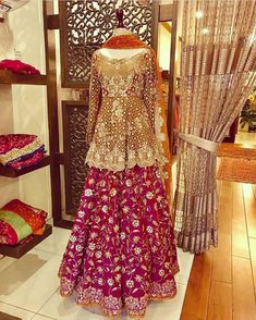 Nov 2019 - Latest Pakistani Designers Bridal Dresses & Embroidery Collections, Wedding Lehenga, Sharara best price for every woman Shop from our Elegant Pakistani Mehndi Dress, Bridal Mehndi Dresses, Pakistani Wedding Outfits, Bridal Dress Design, Pakistani Bridal Dresses, Bridal Outfits, Indian Dresses, Indian Outfits, Dulhan Dress