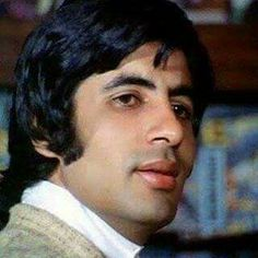 Today Morning, Thing 1, Amitabh Bachchan, Bollywood Celebrities, Old Movies, Young Man, I Love Him, Superstar, Abs