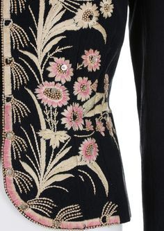 Schiaparelli evening jacket;winter 1937-38 From Kerry Taylor Auctions