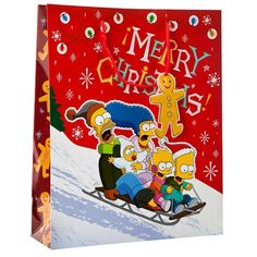 #Poundlandchristmas Extra Large Simpsons Gift Bag | Poundland Perfect For Daddy!
