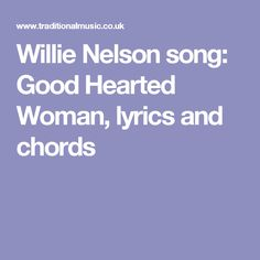 Willie Nelson song: