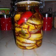 Fotografie receptu: Nejlepší nakládaný hermelín No Salt Recipes, Cooking Recipes, Healthy Recipes, Russian Recipes, Pickles, Smoothies, Natural, Appetizers, Snacks