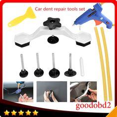 Sedeta/® 6PCS Puller Remover Car Body Panel Dent Hail Removal Kit Paintless Repair Tool