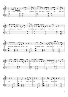 Sheet music made by snailz for Piano