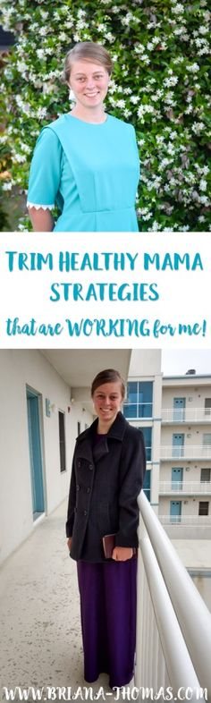 Today I'm going to share some Trim Healthy Mama strategies that are working for me and allowing me to actually lose weight in a very sustainable way.
