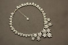 CZ Bridal Necklace