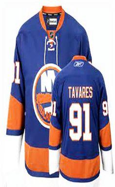 John Tavares Light Blue Stitched NHL Jersey