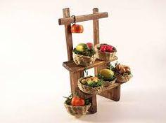 puestos de frutas de los belenes -
