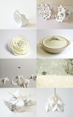 Purest Whites  by Ashley Grebe on Etsy--Pinned with TreasuryPin.com