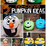 no-carve-painted-pumpkin-ideas-for-kids-on-halloween