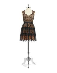 Women's | Dresses | Annabelle Tiered Lace Dress | Hudson's Bay Guess