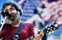Photo of the Day 6/14/2012. Jerry Garcia of the Grateful Dead, BG Archives Concert Photo Print @ Greek Theatre (Berkeley, CA) Jun 14, 1985. Taken by Ken Friedman. http://www.wolfgangsvault.com/jerry-garcia/photography/bg-archives-print/GRK850614-01.html