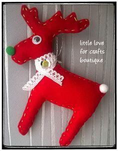 Świąteczna zawieszka Renifer / christmas ornament