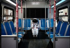 Father and his astronaut son boldly explore life's daily adventures in Small Steps are Giant Leaps | Inhabitots