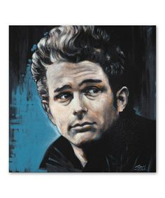 Another great find on #zulily! James Dean - James Gallery-Wrapped Canvas #zulilyfinds