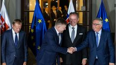"Bratislava EU meeting: Bloc needs 'sober look at problems' says Tusk 9/16/16  European Council President Donald Tusk calls on EU leaders to take a ""brutally honest"" look at the bloc's problems as they meet in Bratislava."