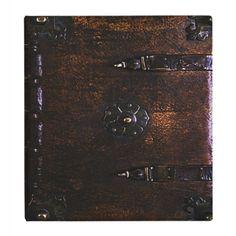 Vintage Leather Look Gothic Binder