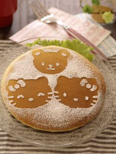 Kawaii hello kitty pancakes